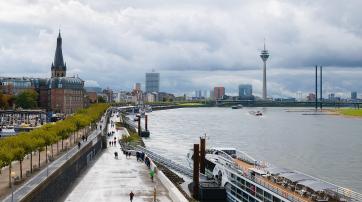 Düsseldorf, Stadtpanorama