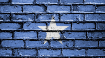 Flagge Somalias