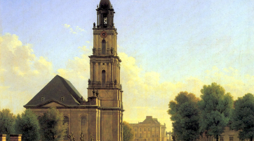 Carl Hasenpflug: Die Garnisonkirche zu Potsdam, 1827