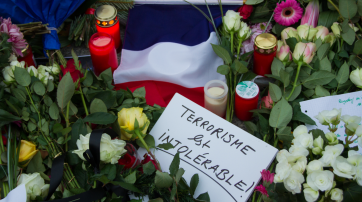Gedenkverstanstaltung nach dem Anschlag auf die Redaktion von Charlie Hebdo