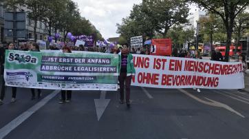 Demonstration für sexuelle Selbstbestimmung 2018