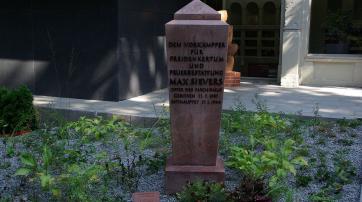Grabmal von Max Sievers