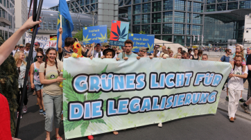 Hanfparade 2014 Berlin