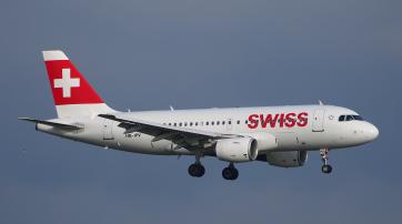 Zukünftig landet auch dieser Airbus A319-100 der Swiss ohne Läderach-Schokolade an Bord.