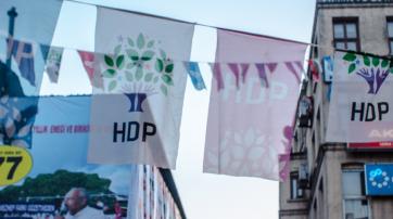 Wahlwerbung der HDP im Wahlkampf 2015