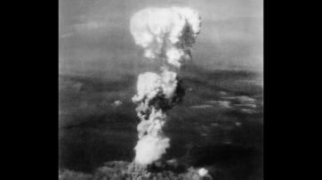 Atompilz über Hiroshima am 6. August 1945