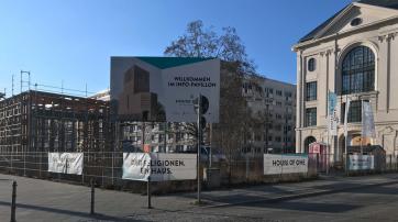 """Geplanter Standort für das """"House of One"""" in Berlin-Mitte."""