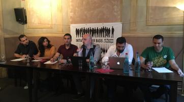 """Das Podium der """"Ex-Muslim-Konferenz"""""""