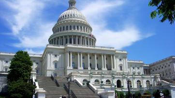Das Kapitol in Washington D.C., Sitz des US-Kongresses