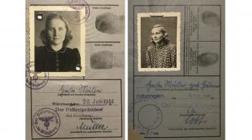 Kennkarten 1944 und 1946