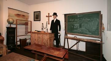 Klassenzimmer im Museum Lenneststadt