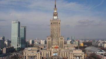 Kultur- und Wissenschaftspalast(polnischPałac Kultury i Nauki)