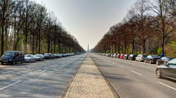 leere Straße