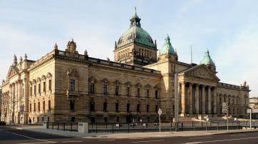 Das Bundesverwaltungsgericht im Reichsgerichtsgebäude in Leipzig.