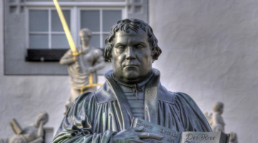Luther-Denkmal in Wittenberg