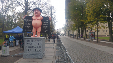 Nackter Luther Wittenberg