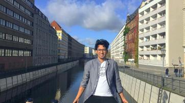 Yahya Ekhou in Deutschland 2019.
