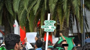 Demonstration für sexuelle Selbstbestimmung