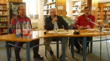 Peter Menne, Prof. Reiner Diederich, Dr. Werner Neumann