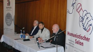 Das Podium: Michael Bammessel, Helmut Fink, Peter Henkel (v. l. n. r.)