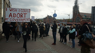 Protest in Danzig