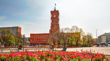 Das Rote Rathaus zu Berlin