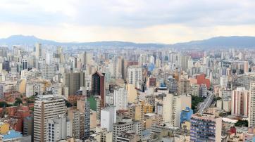 Skyline von Sao Paulo (Ausschnitt)