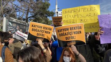 Studierendenproteste an der türkischen Bosporus-Universität