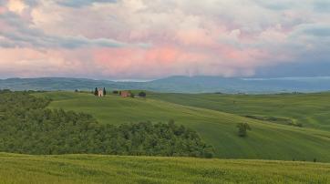 Goethe reiste unter anderem auch durch die Toscana.