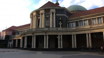 Hauptgebäude der Uni Hamburg