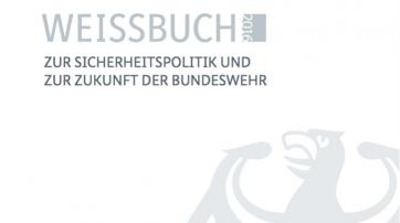 """Deckblatt """"Weißbuch Bundeswehr 2016"""""""