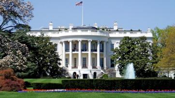 Außenansicht des Weißen Hauses
