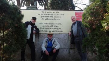 Die drei Anti-Kriegs-Aktivisten