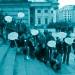 Die Säkulare Flüchtlingshilfe Berlin auf dem Berliner Gendarmenmarkt