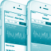 Health-App auf einem Mobiltelefon