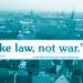 Banner über den Dächern von Nürnberg