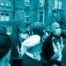 Proteste in der britischen Stadt Batley (Yorkshire)