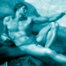 Die Erschaffung Adams (Michelangelo) (Ausschnitt)