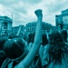 Demo für die Legalisierung von Schwangerschaftsabbrüchen in Mexico City