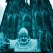"""Der """"Eichelbischof"""" vor dem Kölner Dom"""