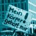 Bei der Demo für sexuelle Selbstbestimmung in Berlin