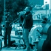 Straßenmusiker in New Orleans