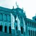 Weiße Fahnen am Maximilianeum